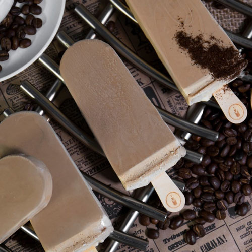 Cappuccino Coffee Paleta Icepop Ice Cream